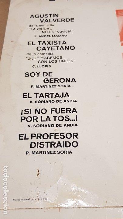 Discos de vinilo: PACO MARTÍNEZ SORIA / LP - VERGARA-1966 / MBC. ***/*** - Foto 3 - 181566162