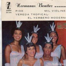 Discos de vinilo: HERMANAS BENITEZ - EP ZAFIRO 1961. Lote 181575241