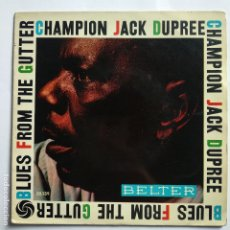 Discos de vinilo: CHAMPION JACK DUPREE - EP SPAIN PS - NASTY BOOGIE. Lote 181579743