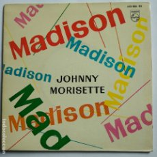Discos de vinilo: JOHNNY MORISETTE - EP SPAIN PS - MADISON TWIST - MINT. Lote 181580720