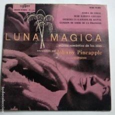 Discos de vinilo: JOHNNY PINEAPPLE - EP SPAIN PS - BAHIA DE CORAL - EX. Lote 181580765