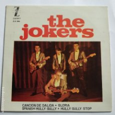 Discos de vinilo: THE JOKERS - EP SPAIN PS - CANCION DE DALIDA - EX. Lote 181580801