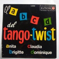 Discos de vinilo: THE JOCKERS - EP SPAIN PS - EL A-B-C-D DEL TANGO TWIST - ANITA / BRIGITTE / CLAUDIA / DOMINIQUE - EX. Lote 181581517