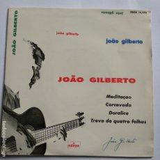 Discos de vinilo: JOAO GILBERTO - EP SPAIN PS - MEDITAÇAO - MINT. Lote 181581742