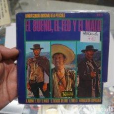 Discos de vinilo: SINGLE - EL BUENO EL FEO Y EL MALO / HU 067 141. Lote 181590353