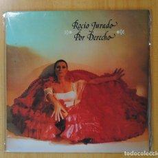 Discos de vinilo: ROCIO JURADO - POR DERECHO - GATEFOLD - 2 LP. Lote 181591141