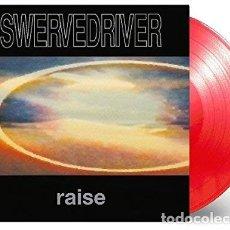 Discos de vinilo: LP SWERVEDRIVER RAISE 180 GRAM AUDIOPHILE VINYL PRESSING INDIE ROCK RED. Lote 181595706