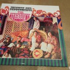 Discos de vinilo: THE STRAWBERRY ALARM CLOCK-INCENSE AND PEPPERMINTS. LP VINILO COLOR ROJO. NUEVO. Lote 181602776