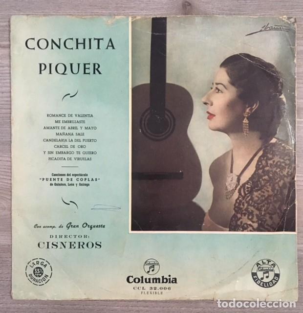 CONCHITA PIQUER - PUENTE DE COPLAS (Música - Discos - LP Vinilo - Flamenco, Canción española y Cuplé)
