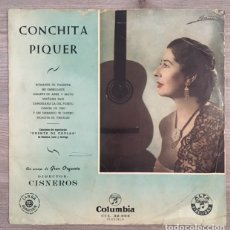 Discos de vinilo: CONCHITA PIQUER - PUENTE DE COPLAS. Lote 181611950