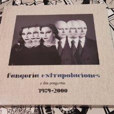 Discos de vinilo: FANGORIA-EXTRAPOLACIONES Y DOS PREGUNTAS-1989-2000 (EDICION 2LPS +CD+LIBRO)ALASKA Y DINARAMA. Lote 181617140