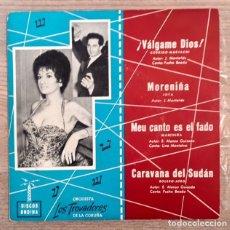 Discos de vinilo: ORQUESTA LOS TROVADORES DE LA CORUÑA - PUCHO BOEDO - 1961. Lote 181621685