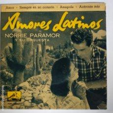 Discos de vinilo: NORRIE PARAMOR - EP SPAIN PS - AMOR * MINT . Lote 181624132