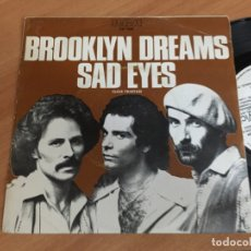 Discos de vinilo: BROOKLYN DREMAS (SAD EYES) SINGLE SPAIN 1978 PROMO (EPI04). Lote 181624721