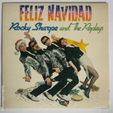 Discos de vinilo: ROCKY SHARPE AND THE REPLAYS - EP SPAIN PS - MINT * FELIZ NAVIDAD. Lote 181625441