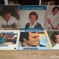 Discos de vinilo: LOTE DE 6 DISCOS VINILO DE JULIO IGLESIAS. Lote 181626047