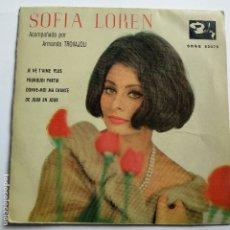 Discos de vinilo: SOFIA LOREN - EP SPAIN PS - JE NE T' AIME PLUS. Lote 181626818