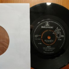 Discos de vinilo: BEATLES SG HELP-IM DOWN ED. INGLESA UK FUNDA GENÉRICA. Lote 181635748