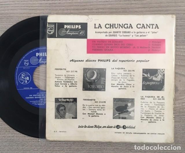 Discos de vinilo: LA CHUNGA - 1963 - Foto 2 - 181622816