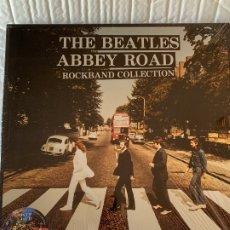 Discos de vinilo: THE BEATLES - ABBEY ROAD ROCKBAND COLLECTION - 4 LP + 4 CD BOX, ED. LIMITADA. Lote 181681933