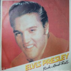 Discos de vinilo: LP. ELVIS PRESLEY. ROCK- AND- ROLL. 1960. MADE IN BULGARIA. MEDIDAS : 31.5 X 31.5 CM APROX.. Lote 181687292