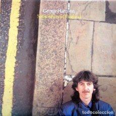 Discos de vinilo: GEORGE HARRISON – SOMEWHERE IN ENGLAND ED CANADIENSE. Lote 181691917