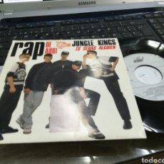 Discos de vinilo: JUNGLE KINGS SINGLE TU SERÁS ALGUIEN 1990. Lote 181700631