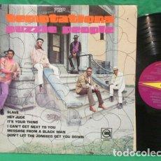 Discos de vinilo: THE TEMPTATIONS / PUZZLE PEOPLE 69 / RARO PSYCHEDELIC SOUL, 1ª EDIC. ORIG. USA + MOTOWN ENCARTE, EXC. Lote 181702611
