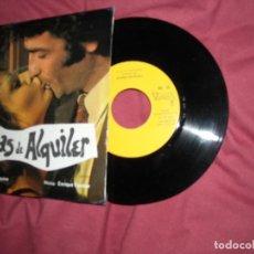 Discos de vinilo: ENRIQUE ESCOBAR - CHICAS DE ALQUILER / LAS MARGINADAS (EP DE 6 TEMAS) VICTORIA 1975 BANDA SONORAS. Lote 181702837