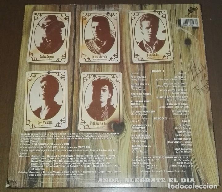 Discos de vinilo: LOS REBELDES PREFERIBLEMENTE VIVOS 2 LP - Foto 4 - 194516185
