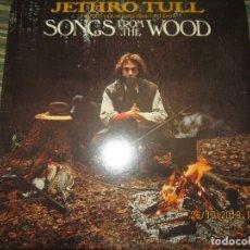 Discos de vinilo: JETHRO TULL - SONGS FROM THE WOOD LP - ORIGINAL U.S.A. - CHRYSALIS 1977 CIN FUNDA INT. ORIGINAL. Lote 181737395