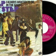 Discos de vinilo: STEP BY STEP. CASH MONEY. I ALWAYS WANTED TO BE IN THE BAND. ( VINILO SINGLE 1977). Lote 181769385