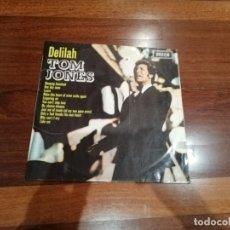 Discos de vinilo: TOM JONES-DELILAH. LP ESPAÑA. Lote 181777682