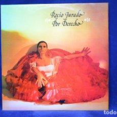 Discos de vinilo: ROCIO JURADO - POR DERECHO - 2 LP . Lote 181779232