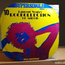 Discos de vinilo: LAURENT VOULZY - ROCKOLLECTION VINILO 12 MAXI 45 RPM SINGLE 1977 RCA ESPAÑA -SERIE: SUPERSINGLE Nº10. Lote 181782082