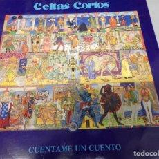 Discos de vinilo: DISCO CELTAS CORTOS - CUENTAME UN CUENTO - LP 1991. Lote 181787550