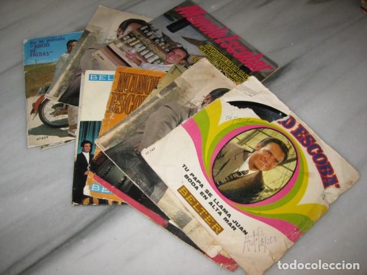 LOTE DE 11 DISCOS SINGLES. MANOLO ESCOBAR. (Música - Discos - Singles Vinilo - Flamenco, Canción española y Cuplé)