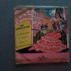 Discos de vinilo: SINGLE GRAN ORQUESTA DE BAILE. Lote 181794397
