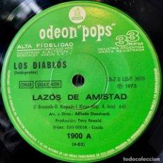 Discos de vinilo: SENCILLO ARGENTINO DE LOS DIABLOS AÑO 1973. Lote 122150043