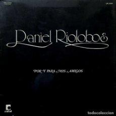 Discos de vinilo: LP ARGENTINO DE DANIEL RIOLOBOS AÑO 1974. Lote 26805506