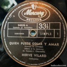 Discos de vinilo: SENCILLO ARGENTINO DE HERVÉ VILARD CANTADO EN CASTELLANO AÑO 1969. Lote 57265925