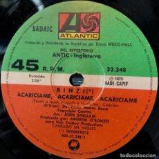 Discos de vinilo: SENCILLO ARGENTINO DE BINZI AÑO 1975. Lote 57655330