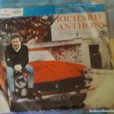 Discos de vinilo: EP ARGENTINO DE RICHARD ANTHONY AÑO 1965. Lote 181818891