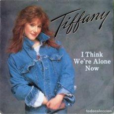 Discos de vinilo: SENCILLO BRITÁNICO DE TIFFANY AÑO 1987. Lote 27057249