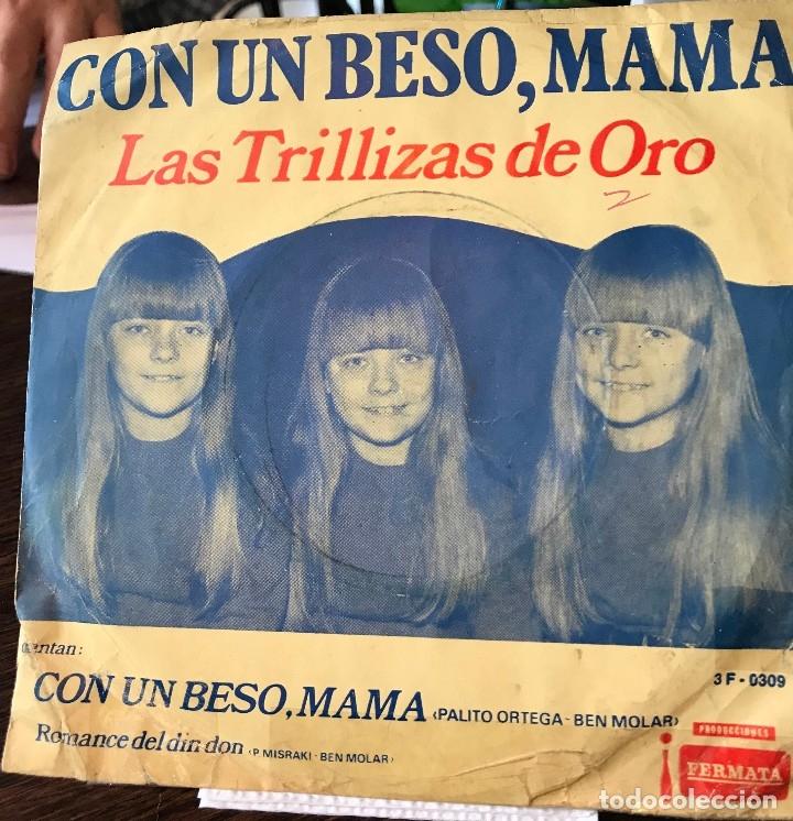 SENCILLO ARGENTINO DE LAS TRILLIZAS DE ORO AÑO 1969 (Música - Discos - Singles Vinilo - Música Infantil)