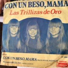 Discos de vinilo: SENCILLO ARGENTINO DE LAS TRILLIZAS DE ORO AÑO 1969. Lote 57278835