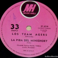 Discos de vinilo: SENCILLO ARGENTINO DE LOS TEAM AGERS AÑO 1971. Lote 57672570
