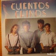 Discos de vinilo: CUENTOS CHINOS ES POR LA MAÑANA SINGLE. Lote 181879478