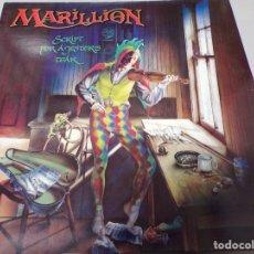 Discos de vinilo: MARILLION - SCRIPT FOR A JESTER´S TEAR EMI PROMOCIONAL - 1983. Lote 181886041