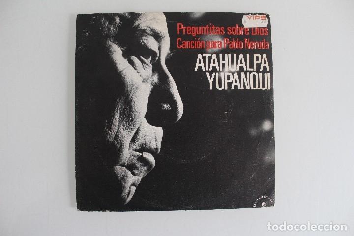 DISCO ATAHUALPA YUPANQUI (Música - Discos - Singles Vinilo - Grupos y Solistas de latinoamérica)